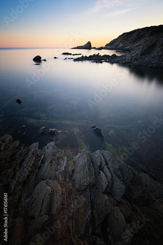 Foto op Canvas Zee zonsondergang Sardinia sunset
