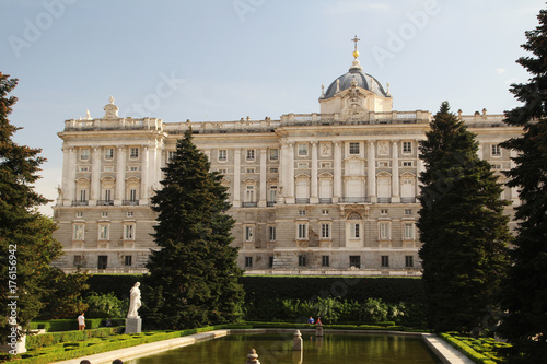 Papiers peints Madrid The Royal Palace of Madrid, Spain