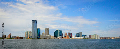 Panoramic View of New York from the Sea