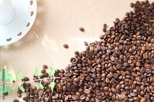 Poster Koffiebonen コーヒー豆