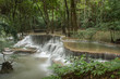 Hua Mae Kamin Waterfall, Kanchanaburi, Thailand - 176186705