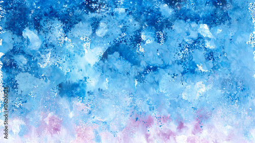 Watercolor painting by color tone - Image for Artwork