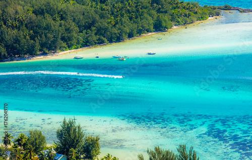 Staande foto Tropical strand ilot