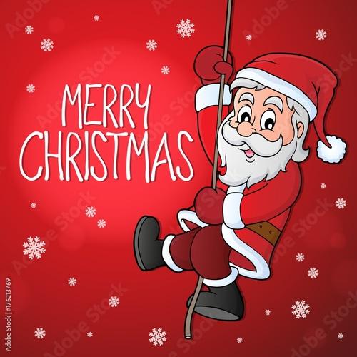 Deurstickers Voor kinderen Merry Christmas topic image 9