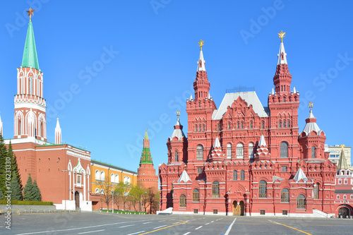 Fotobehang Moskou Moscow. Red square