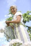 woman in garden - 176235198