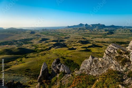 Fotobehang Lente Beauty nature landscape Crimea