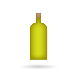 bottle of olive oil icon- vector illustration - 176239511