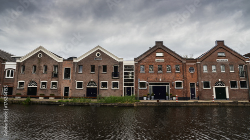 Fotobehang Rotterdam Schiedam is a city and municipality in the province of South Holland in the Netherlands, once famous for its gin production