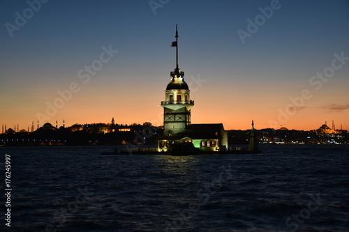 Maiden's tower, Turkey Poster