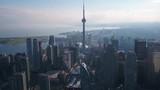 Aerial Canada Toronto July 2017 Sunny Day 4K Inspire 2 - 176246999