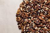 handful of walnut kernels - 176254348