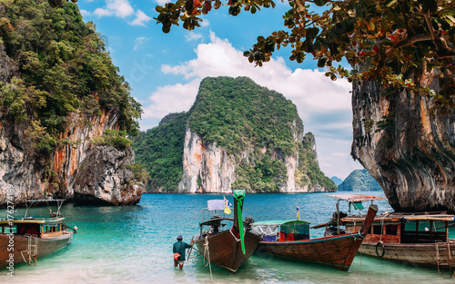 Staande foto Tropical strand thailand