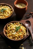 Bhel Chaat - North India street food / Diwali Savory Snacks, selective focus - 176280535