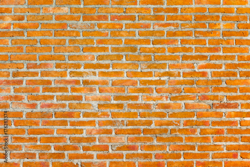 Papiers peints Brick wall Pattern of old brick wall for background and textured, Seamless dirty brick wall background