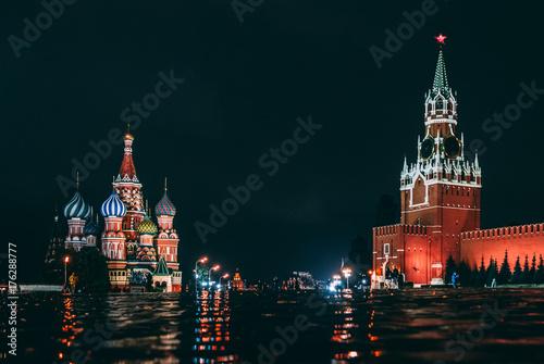 Deurstickers Moskou kremlin