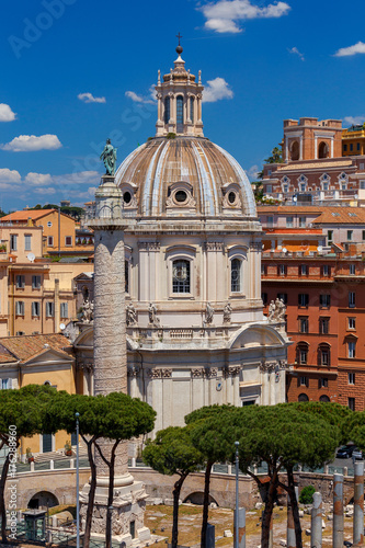 Rome. Trajan's Forum. Poster
