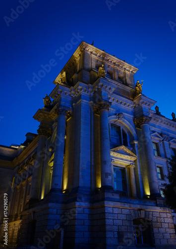 Staande foto Berlijn The Reichstag in Berlin