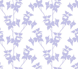 Floral background. Seamless floral pattern. Hand drawn texture with abstract flowers for textiles, fabrics, souvenirs, packaging, greeting cards and scrapbooking. © amiloslava
