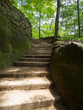 Stone Stairway in Hocking Hills
