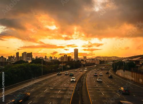 Aluminium Kuala Lumpur Overpass