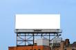 Large Billboard On Rooftop