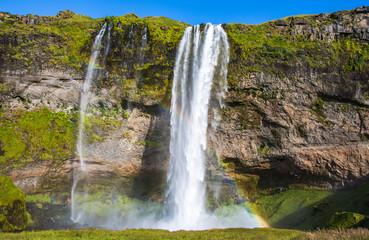 The most famoust Icelandic waterfall - Seljalandsfoss