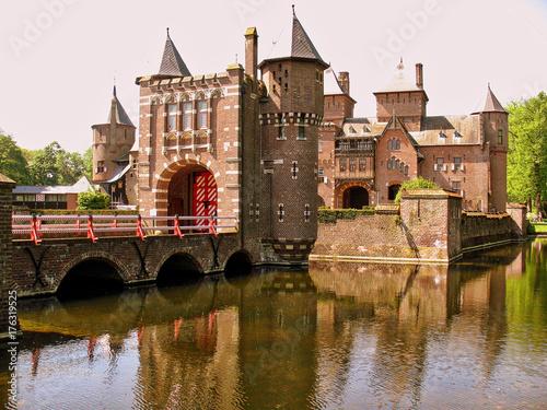 Spoed canvasdoek 2cm dik Brugge Netherlands (Holland)
