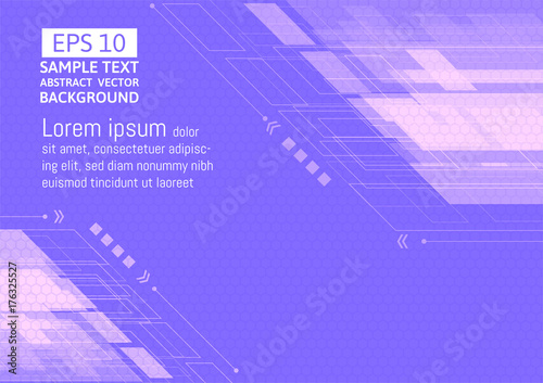 Aluminium Abstractie purple abstract for business concept. vector illustration background