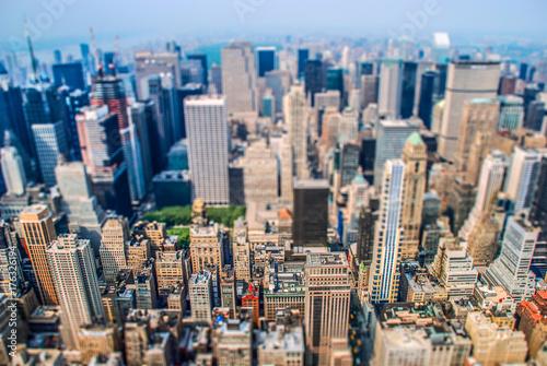 New York Selective Focus