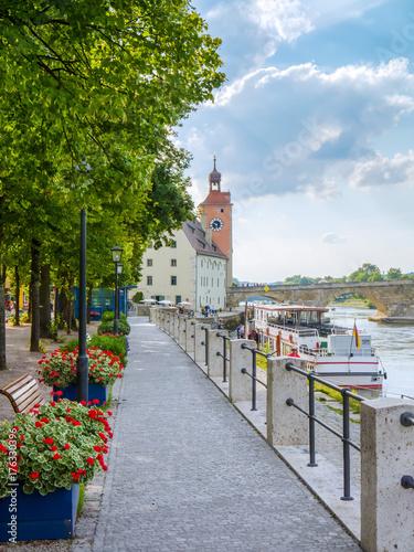 Plakat Ufer in Regensburg