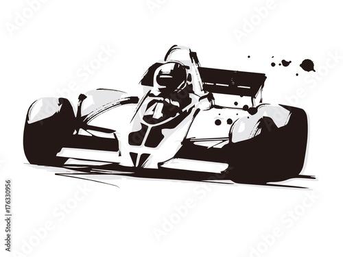 Deurstickers F1 レーシングカー