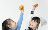 Orange is a juicy fruit and a lot of vitamin. - 176335750