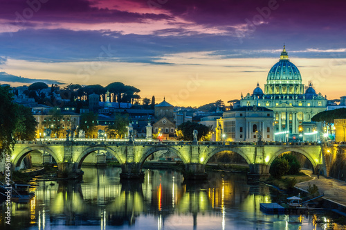 Foto op Canvas Rome Roma