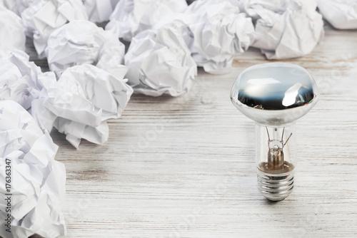Staande foto Bol Your outstanding bright idea