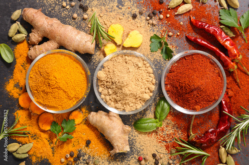 assorted spices Poster