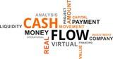 word cloud - cash flow - 176370747