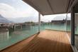 luxury apartment balcony, attic