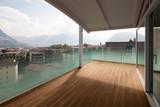 luxury apartment balcony, attic - 176378112