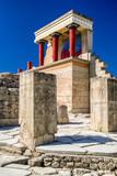 Knossos palace, Crete - Greece - 176382194