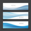 Set of banner templates.  Modern abstract Vector Illustration design. - 176393929