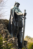 Bismarck Denkmal auf dem Aschberg in den Hüttener Bergen - 176403792