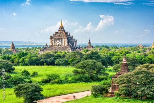 Bagan, Myanmar Temples Poster
