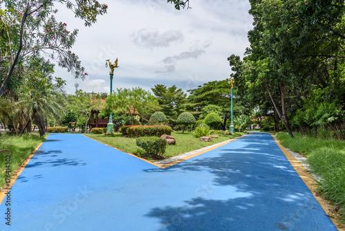 Aluminium Thailand Pathway in a beautiful park