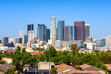 Los Angeles, California, USA downtown cityscape at sunny day - 176420583