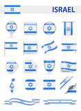 Israel Flag Vector Set - 176420780