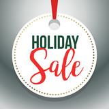Hang Tag Holiday Sale Vector Illustration 1 - 176428326