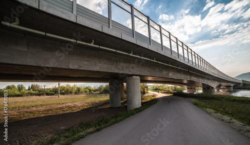 Fotobehang Bruggen Highway