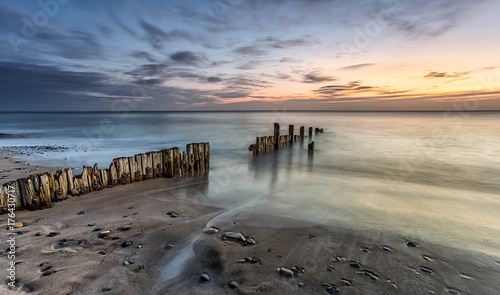 Keuken foto achterwand Zee zonsondergang Dawn