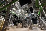 Industrial installations at night - 176437795